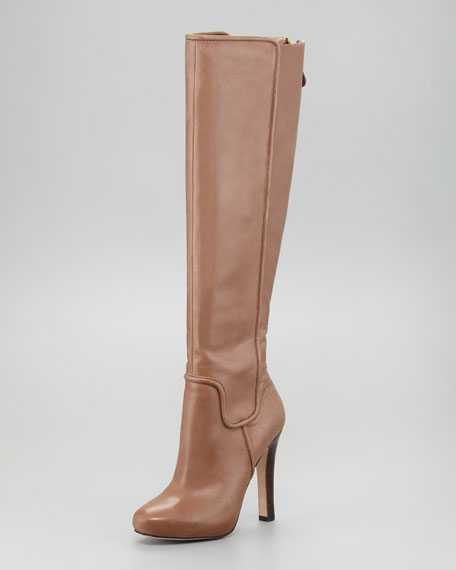 Tall Boot, Taupe