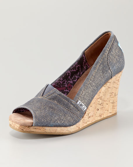 Azar Metallic Wedge
