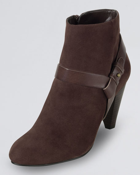Calico Suede Ankle Boot