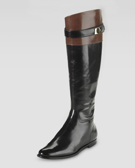 Daelin Leather Riding Boot