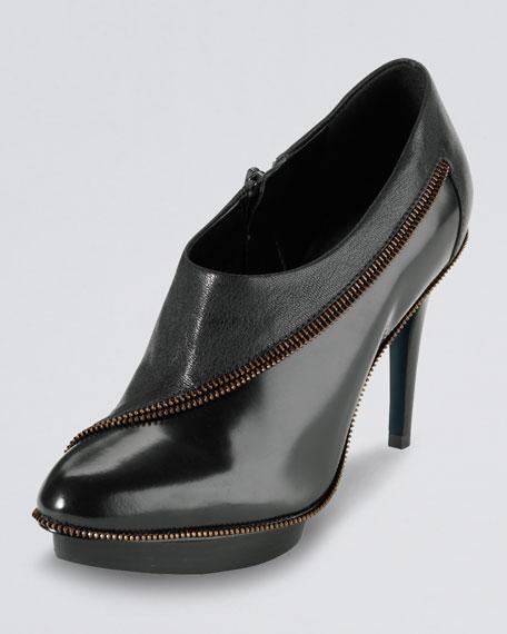 Sage Zip-Trim Ankle Boot