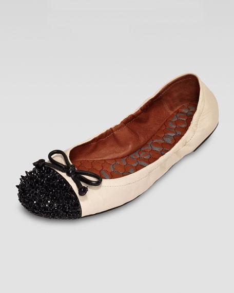 Beatrix Spike-Toe Flat