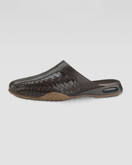 Air Bria Woven Leather Mule