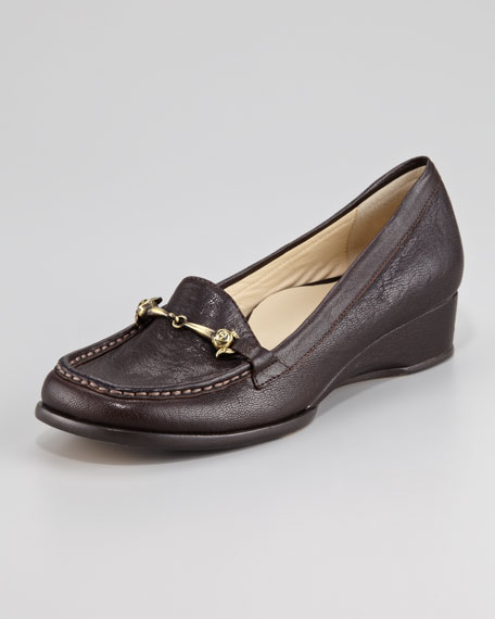 Charsey Low-Wedge Bit Loafer