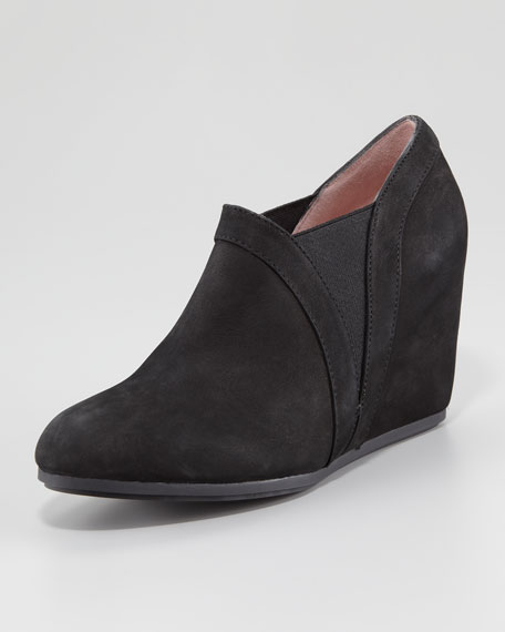 Dannah Suede Gored Ankle Bootie