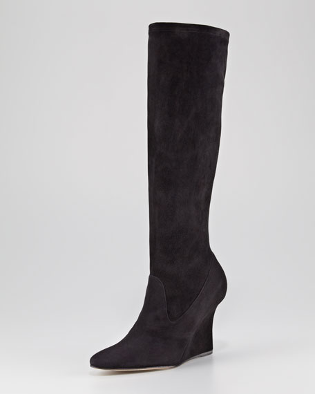 Pascalare Suede Wedge Boot