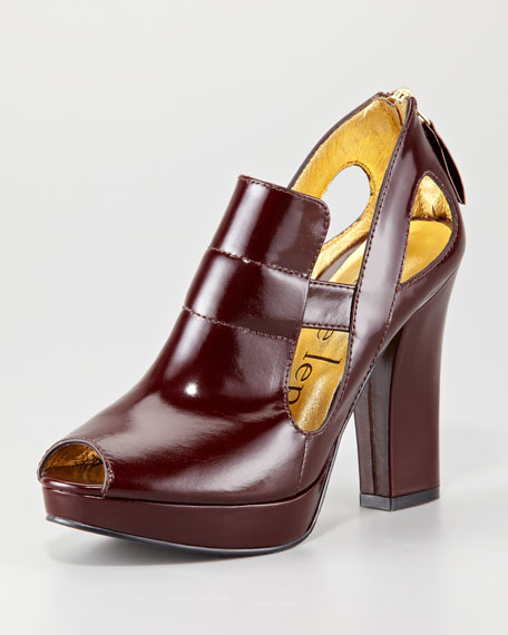 Hypnotic Leather Bootie
