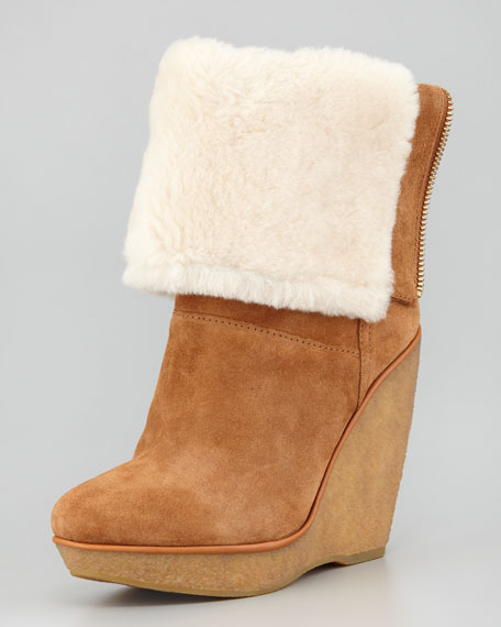 Emmet Shearling-Lined Boot