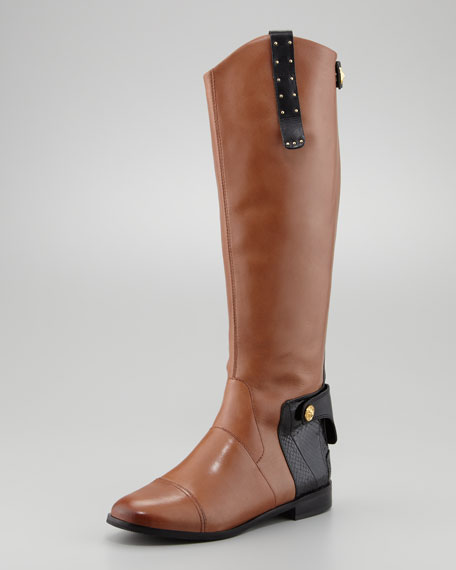 Dara Vienna Leather Knee Boot
