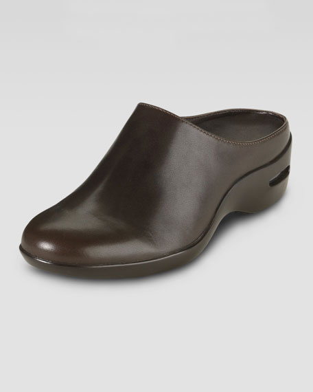 Air Reena Leather Slip-On Clog