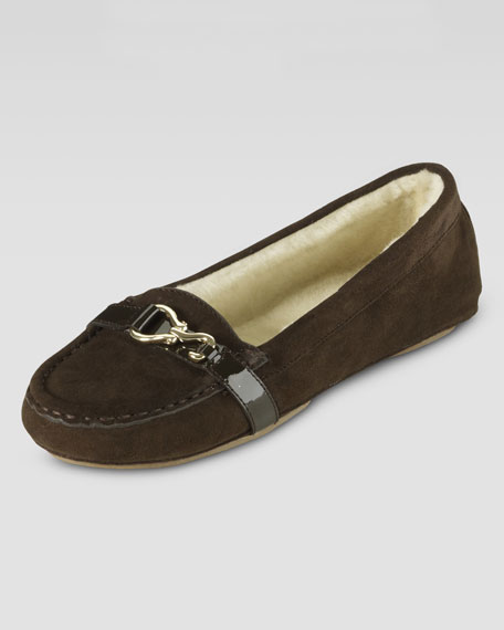Katelyn Shearling-Lined Slipper