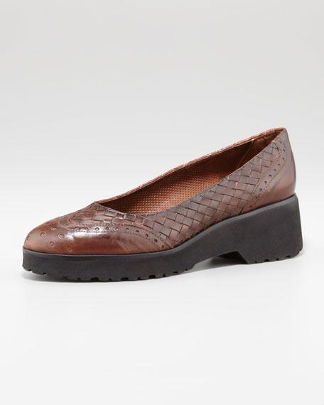 Rama Woven Leather Sneaker