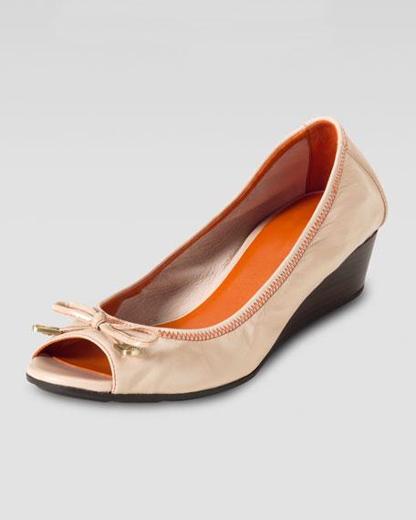 Air Tali Ballerina Open-Toe Wedge