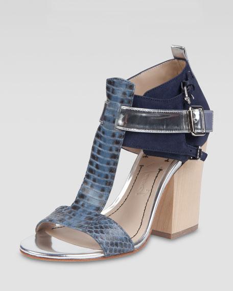 Carrie Colorblock Sandal