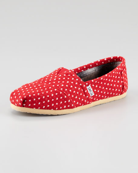 Polka-Dot Slip-On