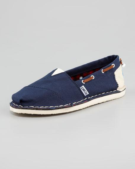 Bimini Boat Shoe, Navy