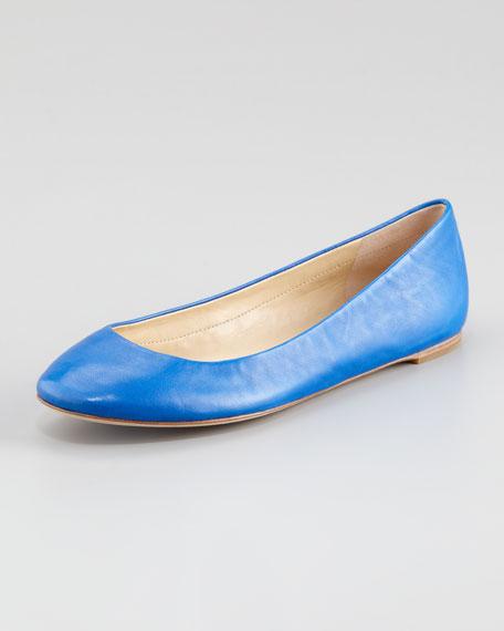 Lara Ballerina Flat, Lapis Blue