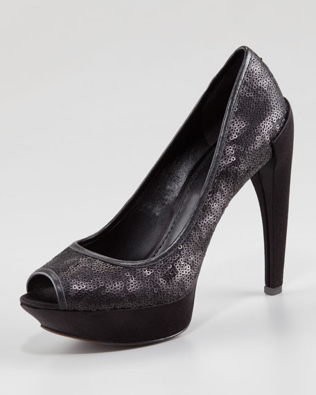 Channing Sequined Pump