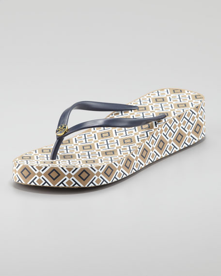 Thandie Wedge Flip-Flop - Tory Burch Thandie Wedge Flip-Flop
