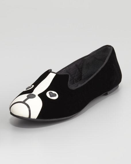 Shorty Velvet Dog Loafer