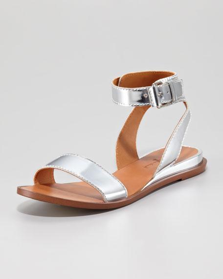 acc6723ea 7 for all mankind Maura Specchio Leather Flat Sandal