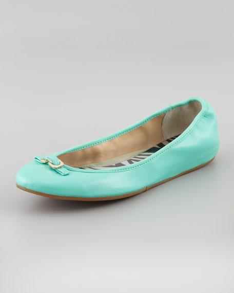 Bion Napa Ballerina Flat, Green Haze