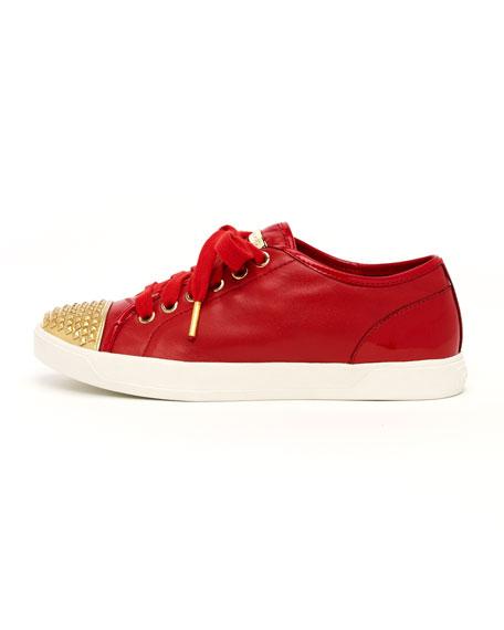Stud-Toe Sneaker