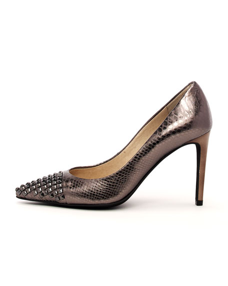 Aria Stud-Toe Pump