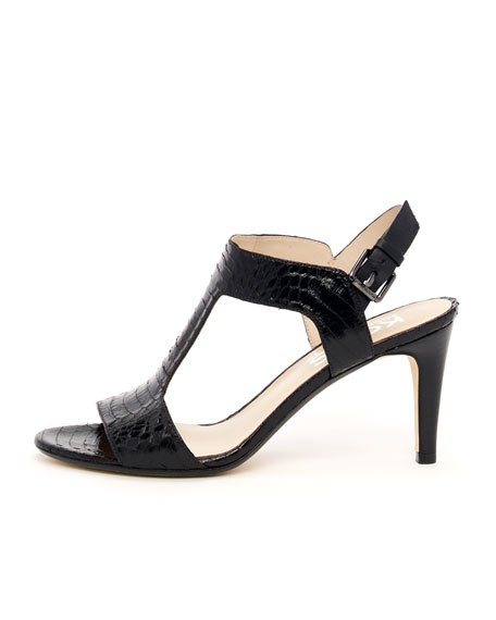 Xyla Snakeskin Sandal