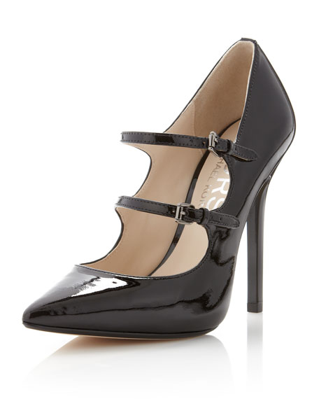 Abalena Double-Strap Pump
