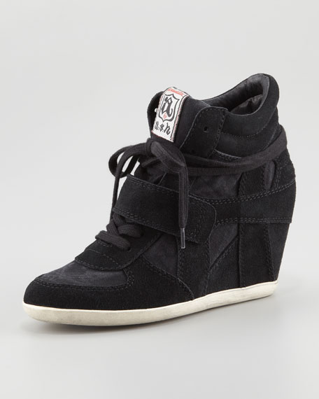 0749910a45b Ash Bowie Suede Wedge Sneaker