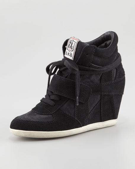 67ae7d3c34ae Ash Bowie Suede Wedge Sneaker