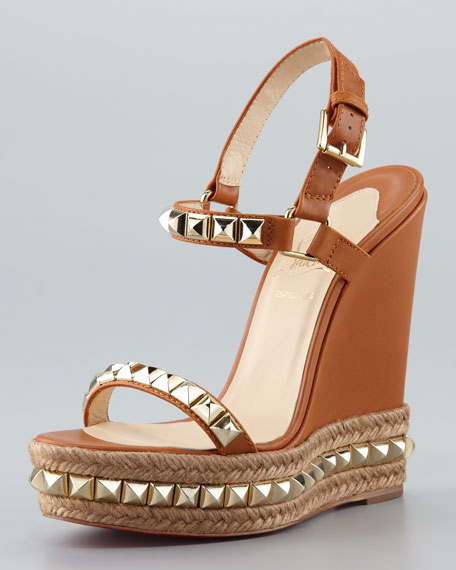 christian louboutin wedges cataclou
