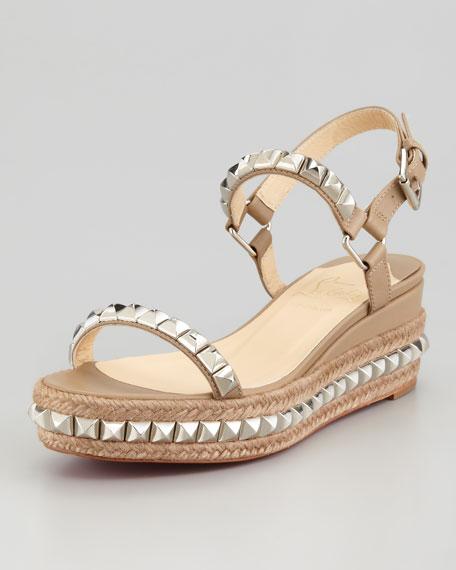 Cataclou Flatform Sandal, Stone
