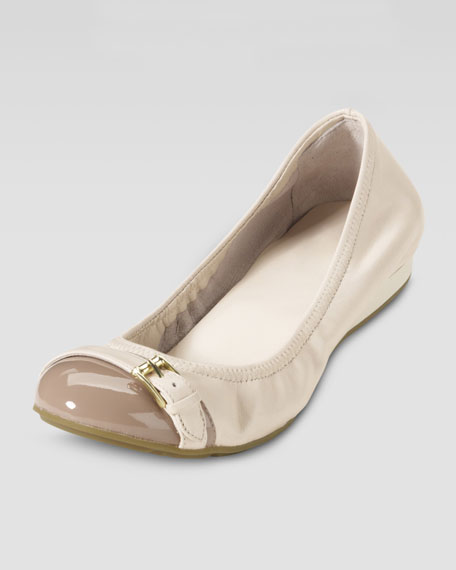 Air Reesa Ballerina Flat, White Pine/Cove