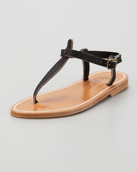 K. Jacques Picon Slingback Flat Thong Sandal