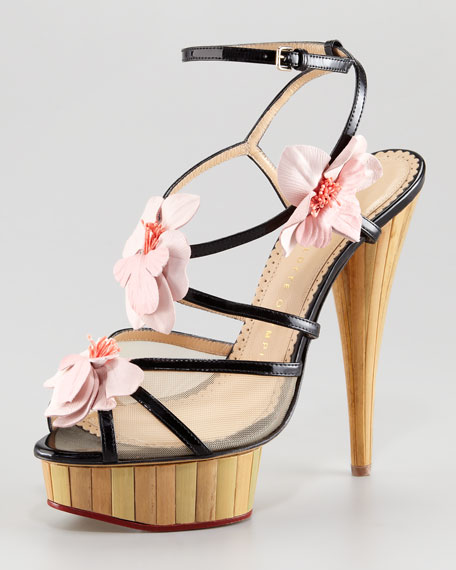 Botanica Strappy Orchid Sandal