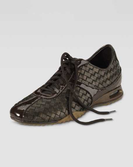Air Bria Woven Oxford, Dark Brown
