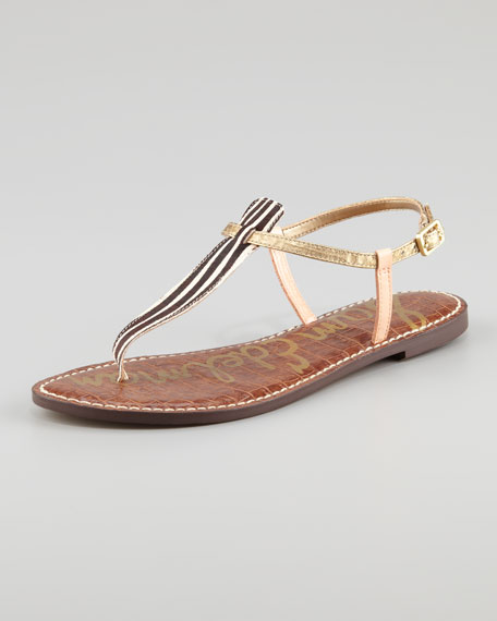 Gigi Calf Hair Sandal