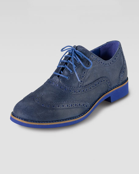 Alisa Oxford, Blue/Cobalt