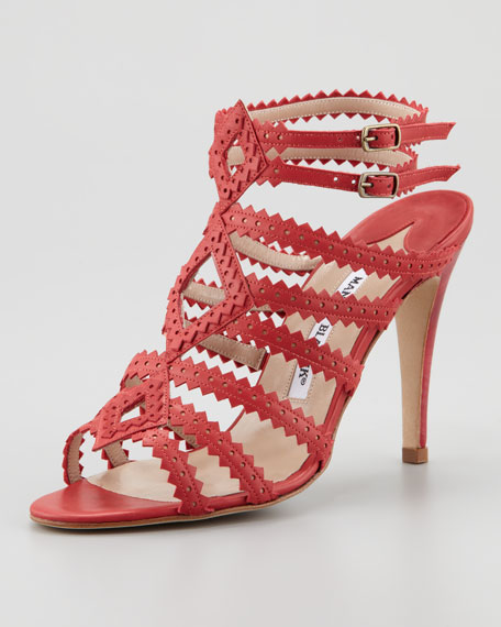 Ries Pinked Strap Sandal