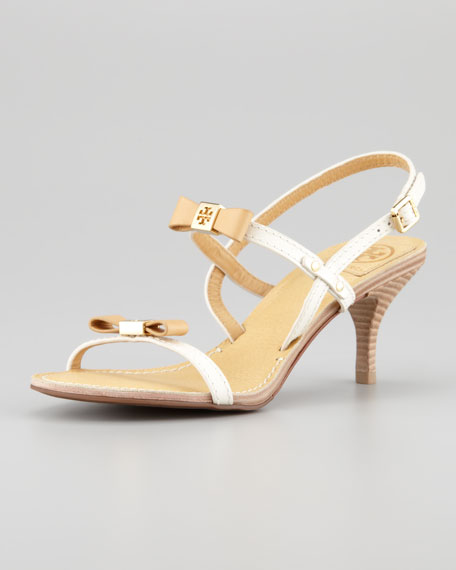 Kailey Patent Bow Sandal