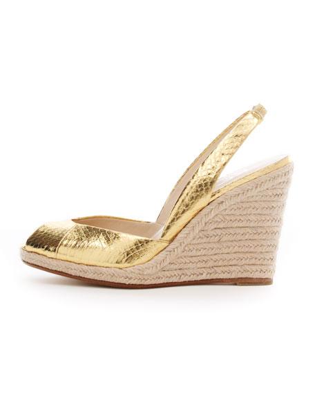 Vivian Slingback Wedge Sandal