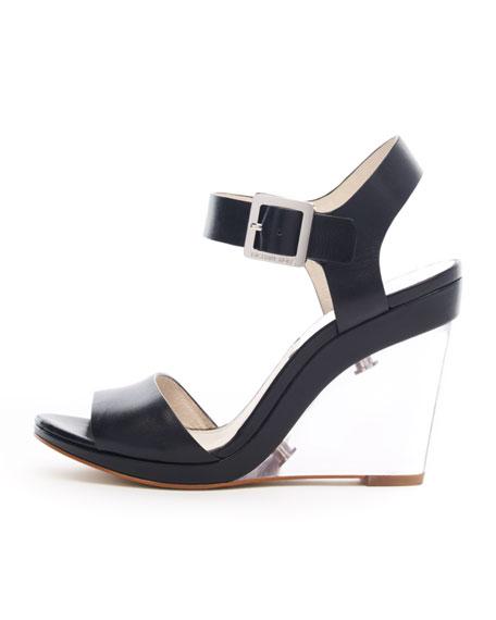 Lana Clear-Wedge Sandal