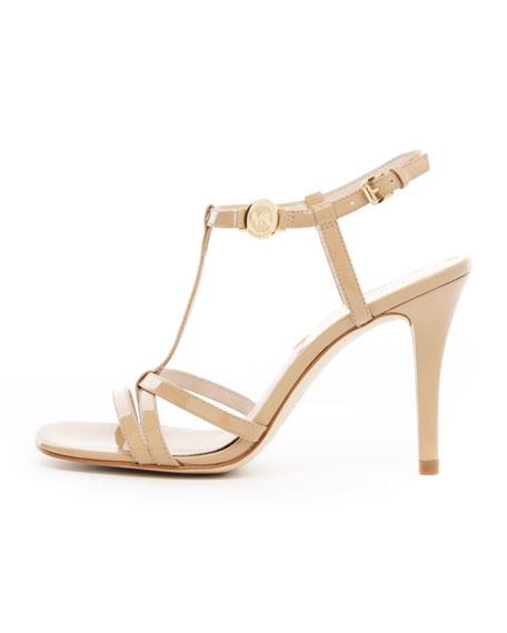 Maggi T-Strap Patent Sandal