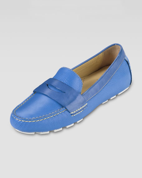 Air Sadie Driver Moccasin, Blue Topaz