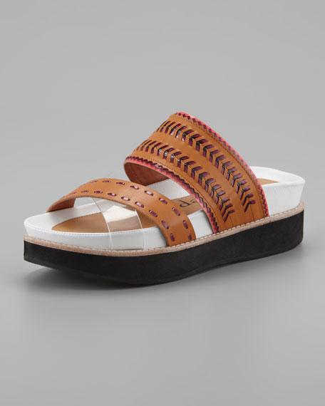 Chi Chi Footbed Sandal, Camel