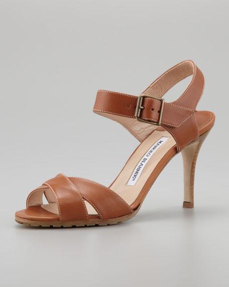 Adeustrap Ankle-Wrap Sandal