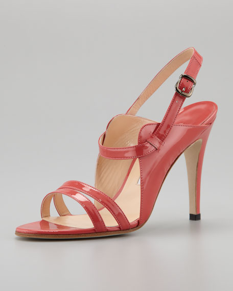 Dodo Double-Band Patent Sandal