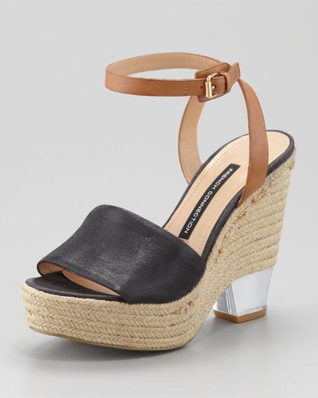 Abby Jute Wedge Sandal